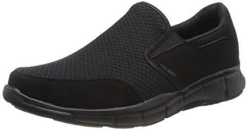 Skechers Men's Equalizer Persistent Slip On Sneaker, Black