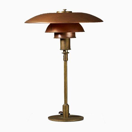 Ph 4 3 Table Lamp By Poul Henningsen For Louis Poulsen Denmark 1929 In 2021 Louis Poulsen Poul Henningsen Lamp