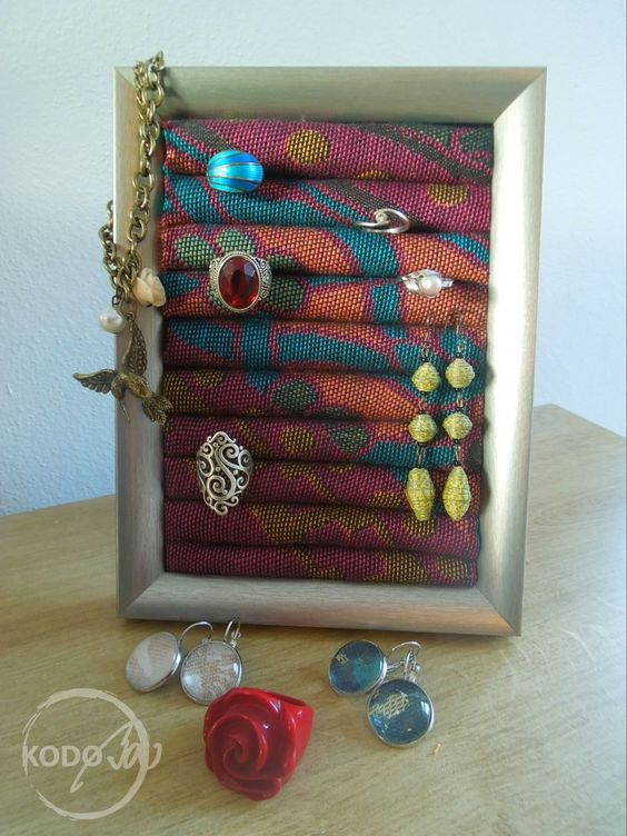 Wrap scrap Ring Holder from Didymos Oiend by KodoBa