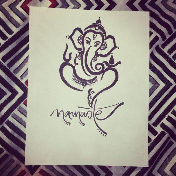 Ganesh tattoo idea