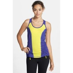 Zella 'Run' Ruched Racerback Tank Purple Beauty Medium - product - Product Review