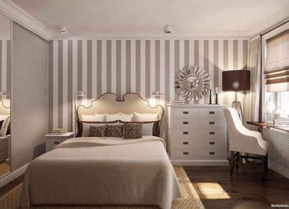 фото маленькая спальня стены
