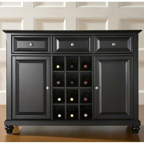 distressed furniture 42001   Crosley Crosley newport buffet server/sideboard cabinet is constructed ...