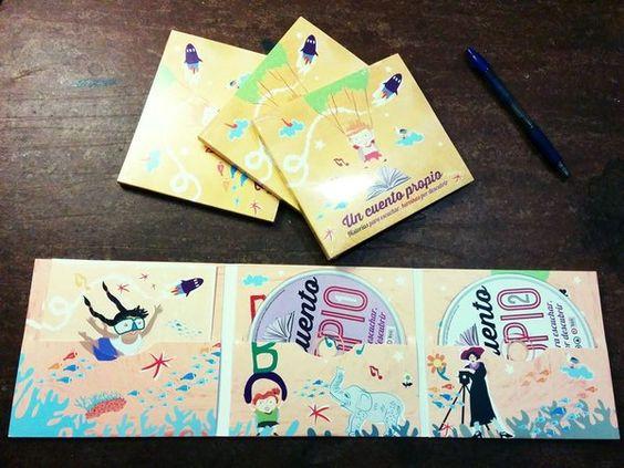 #LIBRO #INFANTIL #MUSICA #CUENTO #CROWDFUNDING - 'Un cuento propio' es un disco que contiene siete cuentos infantiles para escuchar. Acompañados por música y canciones, los relatos nos cuentan asombrosas historias basadas en las vidas de mujeres reales. CD portada album cover +INFO http://pandoramirabilia.net Crowdfunding verkami http://www.verkami.com/projects/10055-un-cuento-propio-disco-con-siete-relatos-infantiles