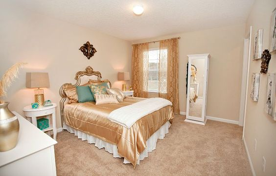 Beautiful bedroom in the Brio home in Mill Creek at Kendall Town  #Lennar #DreamHome