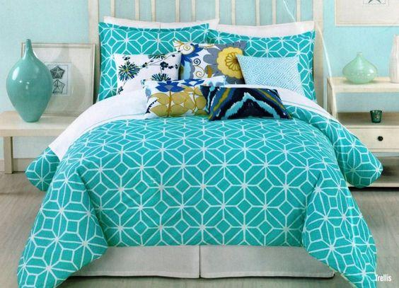 Green Teen Bedding Set Teen Girl Room Ideas Pinterest