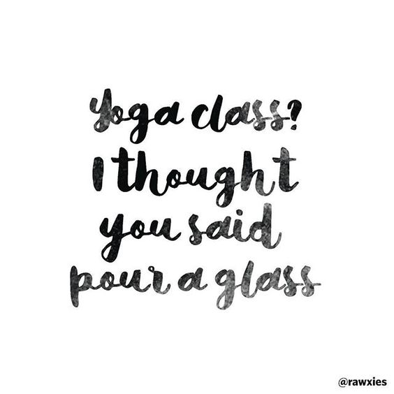 Whether it's yoga or wine (or both) that helps you get through the week...happy hump day! #halfwaytotheweekend #yoga #wine