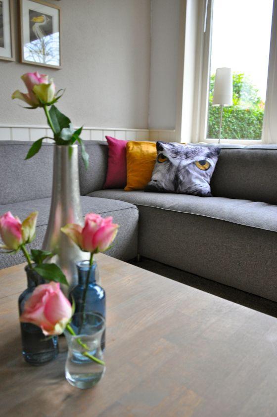 Woonkamer in Utrecht na STIJLIDEE Interieuradvies en Styling