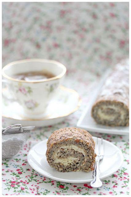 Earl grey tea roulade #cake #roll #tea