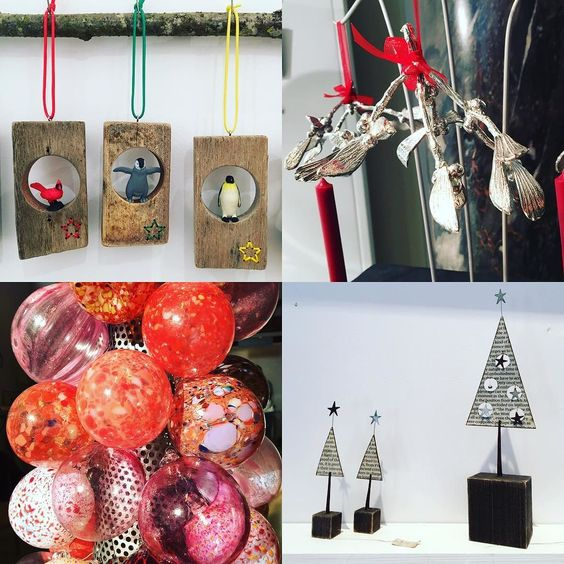 Feeling festive at #Chelsea16 with amazing #christmasdecorations  Makers tagged in image  #xmas #christmas #shopping #handmade #decorations