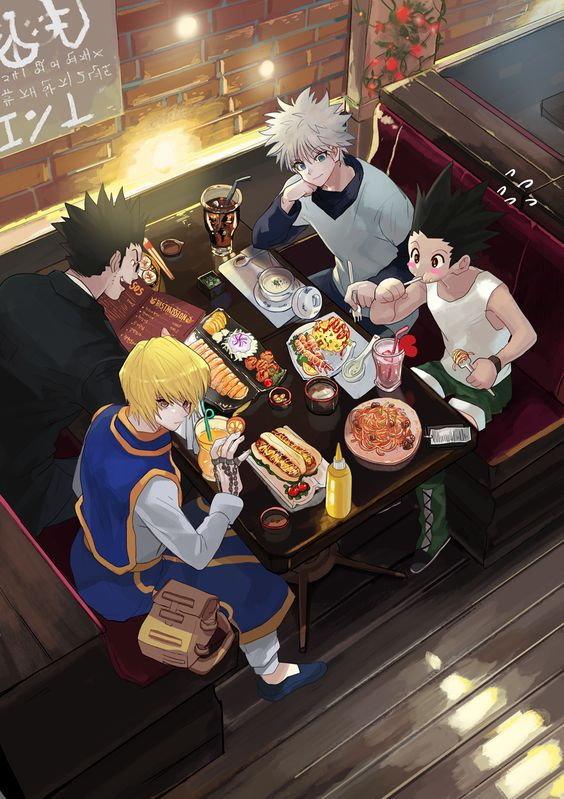 Leorio Kurapika Killua And Gon Hunter X Hunter Hunter Anime Hunter X Hunter Anime