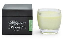 Bamboo Jasmine Square Candle w/Red Box - $39