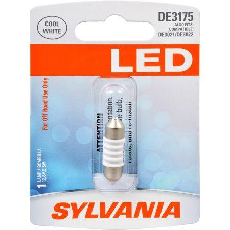 Sylvania De3175 White Syl Led Mini Bulb Mini Bulb Pack Of 1 Bulb Sylvania Led Led