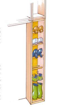 Flur-Garderobe bauen: Schritt 11 von 14