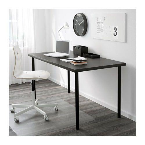 Linnmon Adils Table Black Brown Black Ikea Drawer Unit Home Office Desks Ikea