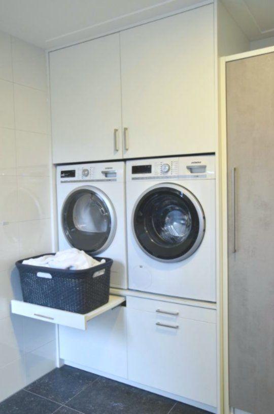 Hedendaags Een wasmachine kast is een verademing voor ieder huishouden. Door EH-04