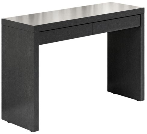 modern desks black perfect use as a modern desk or hall table with its
