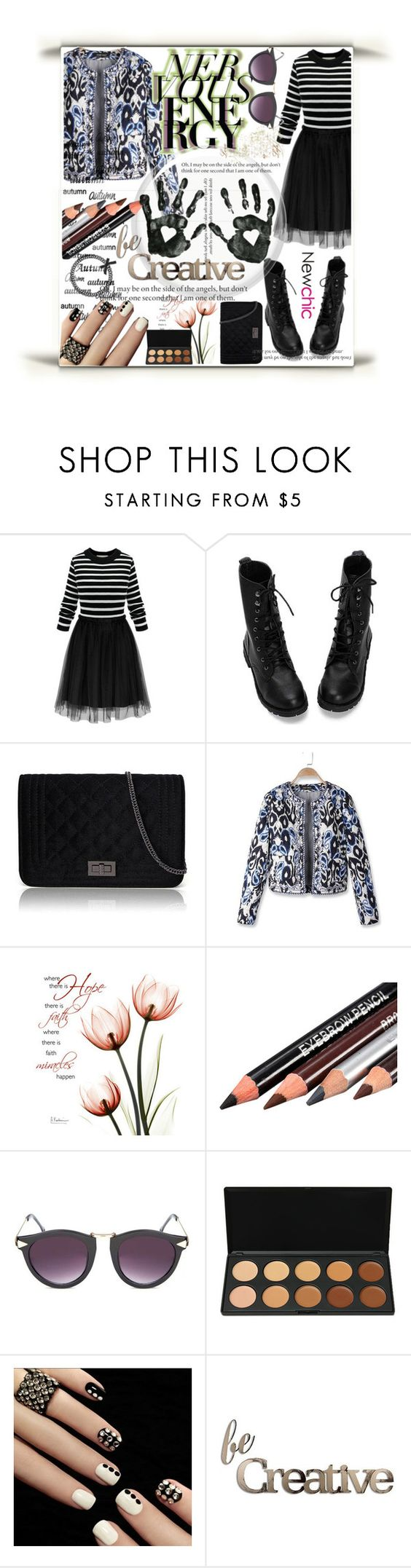 """""""#newchic"""" by armella ❤ liked on Polyvore featuring Letter2Word, chic and newchic"""