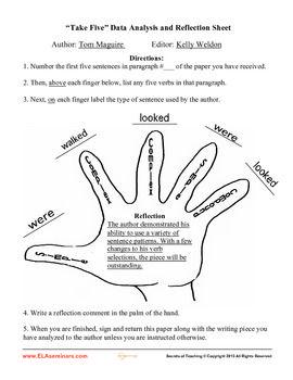 Essay editing tools
