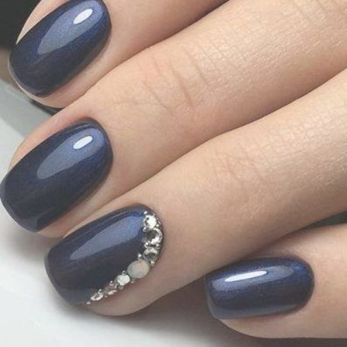 20 Stunning Blue Wedding Nails You Ll Want To Copy Society19 Wedding Nails Design Blue Wedding Nails Wedding Nails
