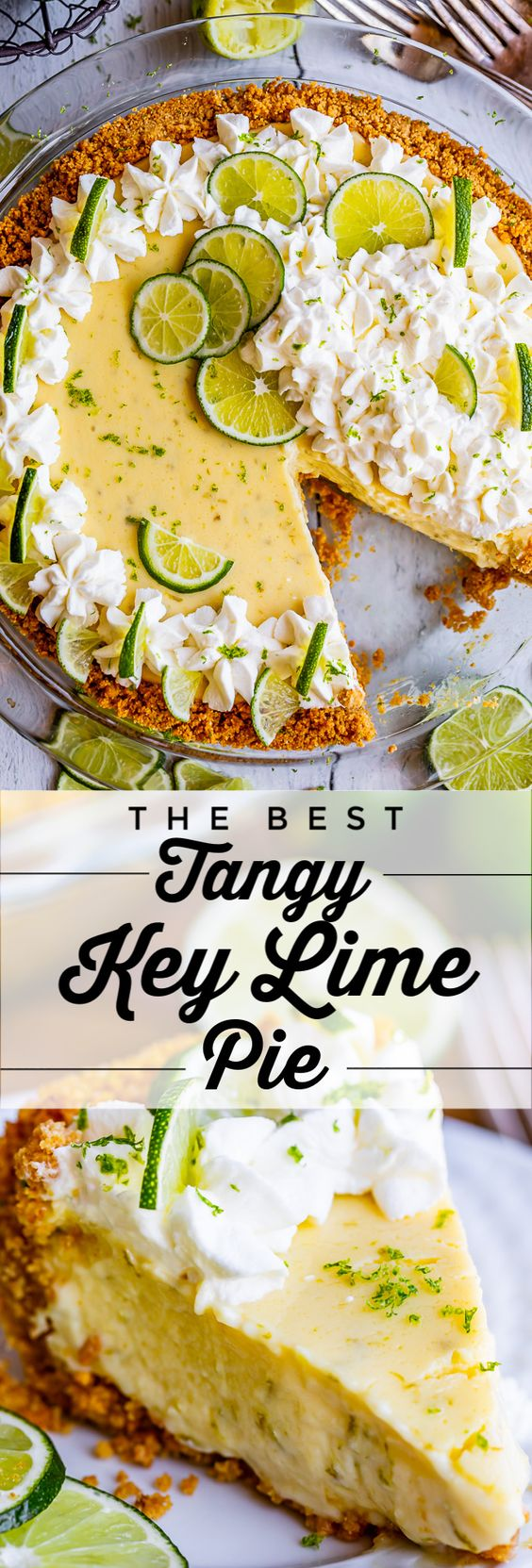 The Best Zesty Key Lime Pie Recipe from The Food Charlatan