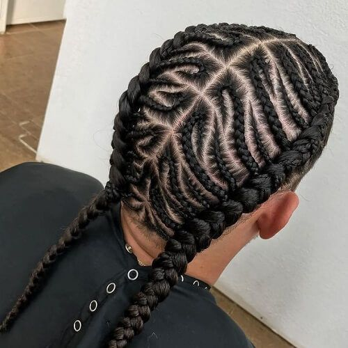 50 Trenzas Para Hombres De Ideas Ideas Trenzas Hair Styles Cornrow Hairstyles For Men Mens Braids Hairstyles