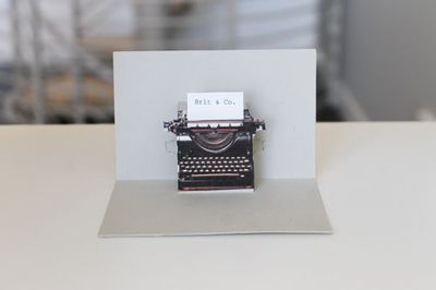 DIY PopUp Cards: Business Card, Pop Up Cards, Typewriter Card, Cards Diy, Popup Cards, Diy Cards, Diy Popupcards
