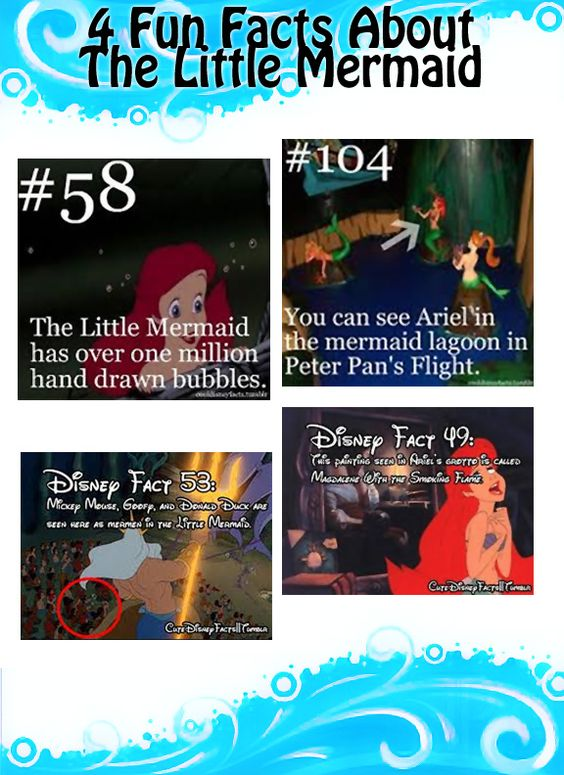 4 Fun Facts About the Little Mermaid! Fairy Tale Magazine: August 2014 Edition Ariel #ariel #littlemermaid #fairytalemagazine #funfacts #forgirls