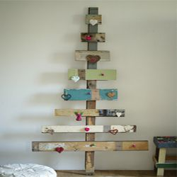 Recycled Eco-Friendly Rustic Christmas Tree