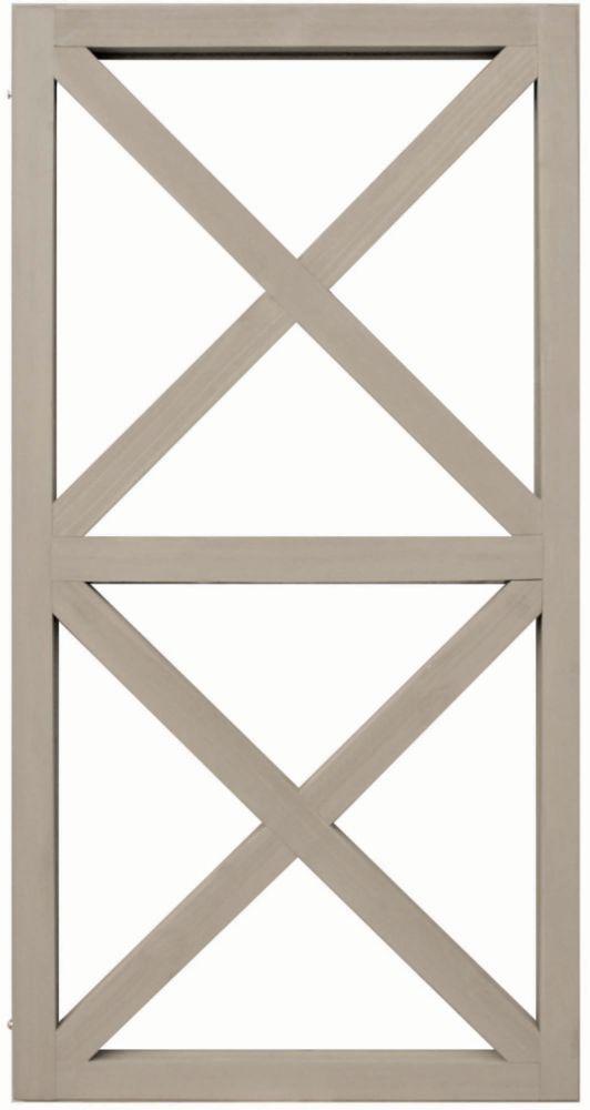 Structure en X d'une hauteur de 2 panneaux de Yardistry