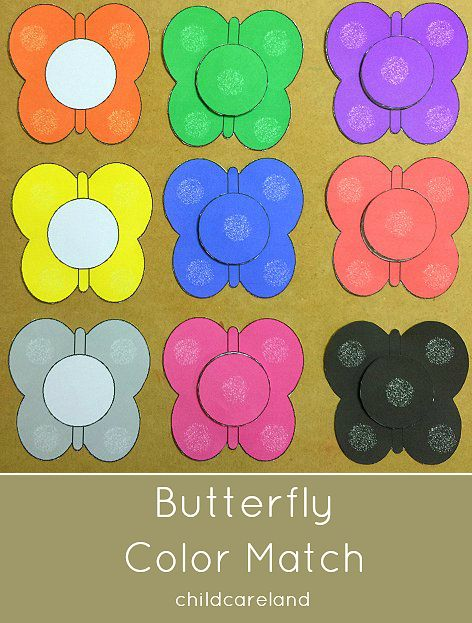 Preschool Activities Toddlers And Butterflies On Pinterest