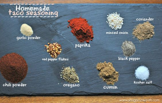 Pre-made seasonings can often contain #gluten. Try making your own mixes instead, like this homemade Taco Seasoning. Guaranteed #glutenfree!