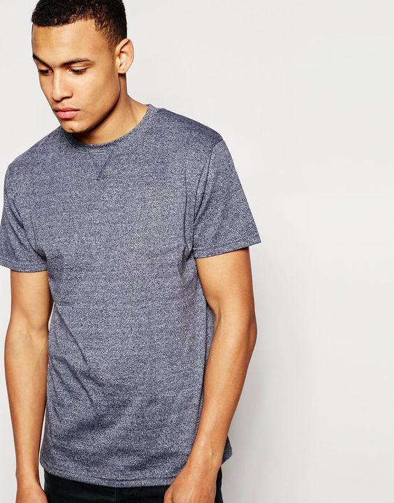 T-Shirt von D-Struct weiches Jersey Rundhalsausschnitt reguläre Passform - entspricht den Größenangaben Maschinenwäsche 50% Baumwolle, 50% Polyester Model trägt Größe M und ist 188 cm/6 Fuß 2 Zoll groß
