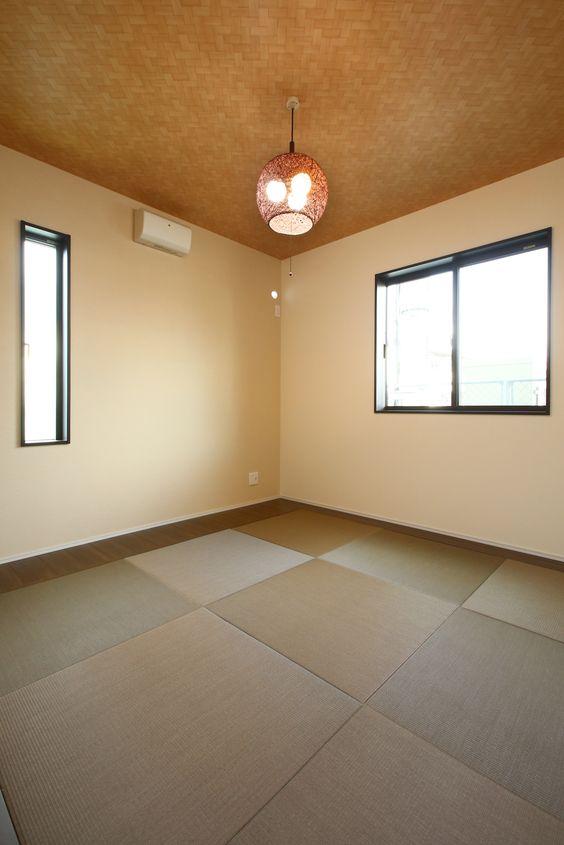 洋風にもピッタリ馴染む和室 和室 窓サッシ 窓枠