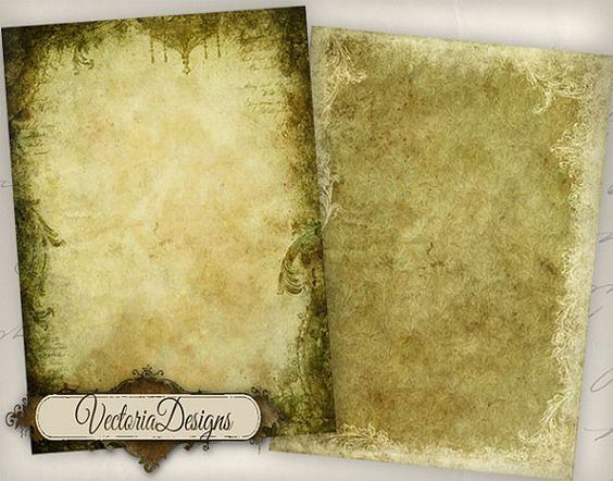 INSTANT DOWNLOAD Grunge Frames atc vintage images printable digital collage sheet VD0427