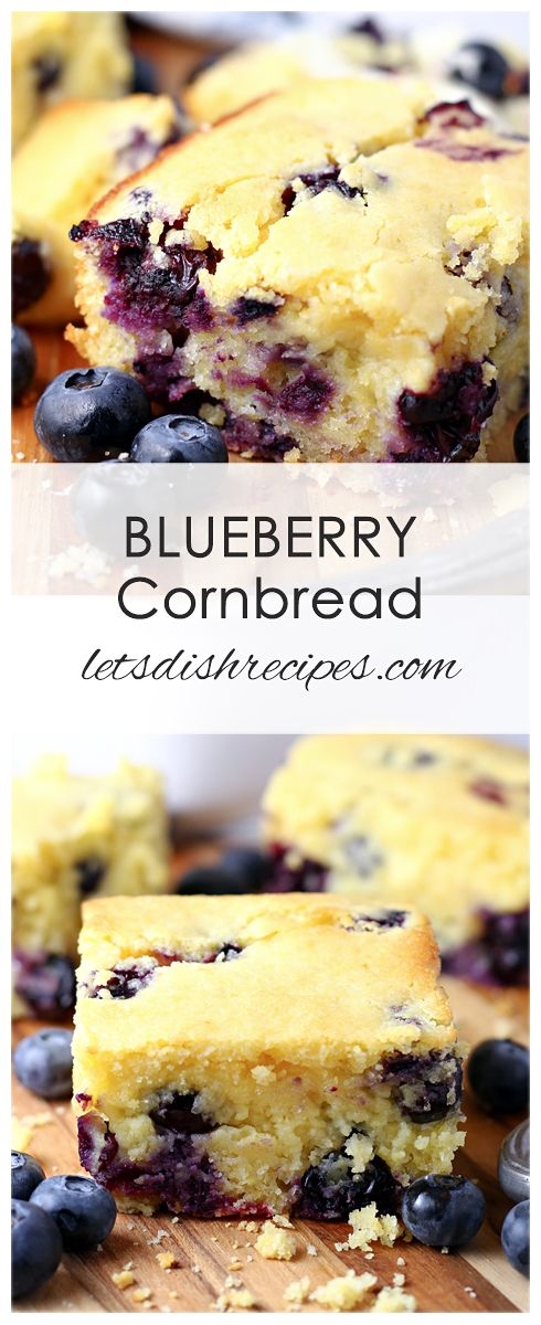 Blueberry Cornbread Recipe Cornbread Recipe Sweet Sweet Cornbread Blueberry Cornbread