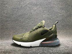 Best Quality Nike Air Max 270 dark green black white men's
