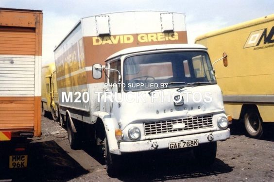 M20 Truck Photos - Bedford - David Greig. • £0.99