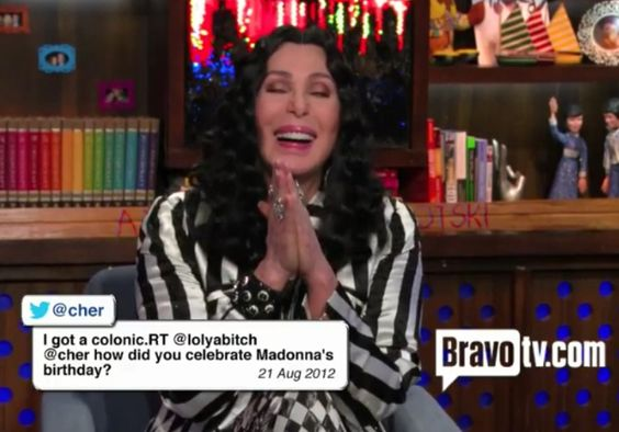 Tweets By Cher, Andy Cohen Highlights Some Of The Wildest Tweets From Twitter Savant Cher.