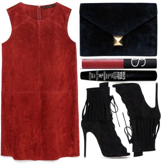 street style by sisaez on Polyvore featuring Zara, Giuseppe Zanotti, Hermès, TheBalm and NARS Cosmetics