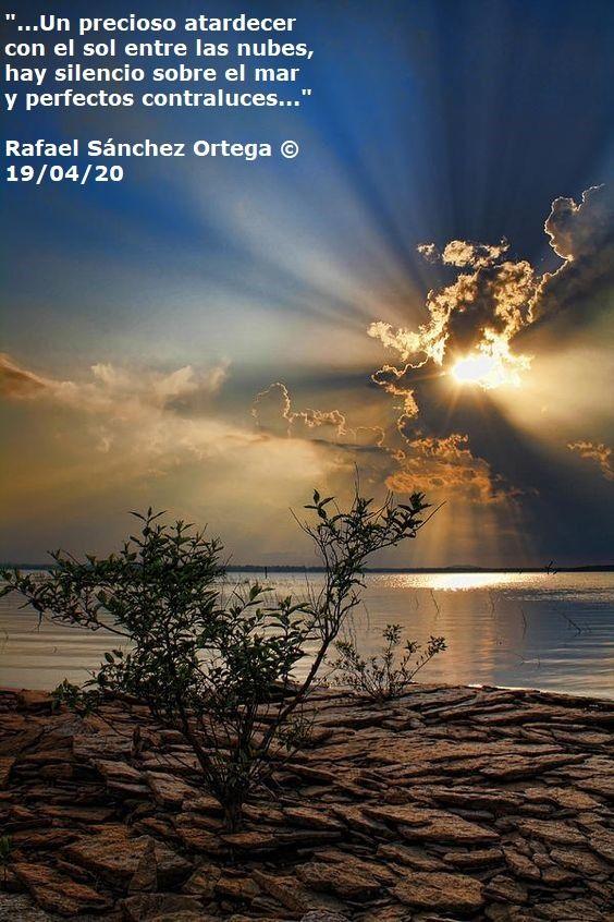 Siir Poesía Atardecer Nubes Poesía