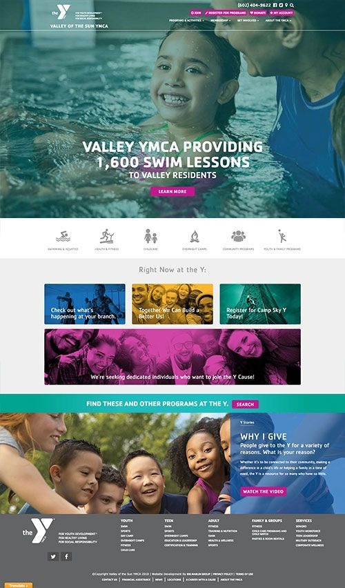 20 Best Nonprofit Websites 2017 Edition Top Nonprofits Nonprofit Website Design Nonprofit Design Web Design Nonprofit