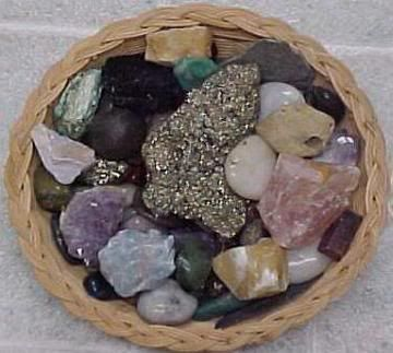 I grew up with a collection of rocks like these.  I put them into a plastic bag and hid them under my pillow.  No wonder I had headaches!