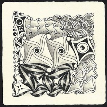 Enthusiastic Artist: CADENT, and then some by Margaret Bremner, Certified Zentangle Teacher