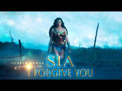 Sia I Forgive You Lyrics Wonder Woman 2017 Hq Youtube