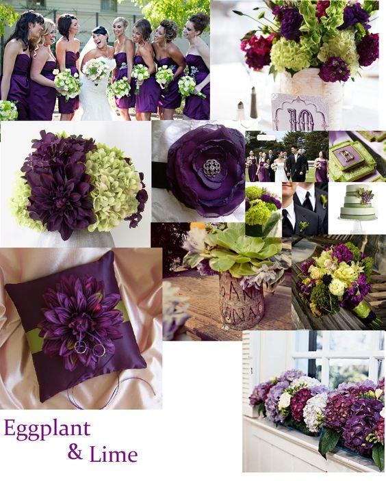 wedding eggplant wedding and wedding ideas on pinterest. Black Bedroom Furniture Sets. Home Design Ideas