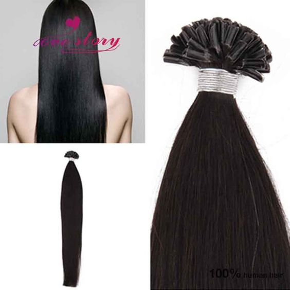 8-26 inch pre bonded hair extensions brazilian virgin keratin natural black #1b straight I tip hair extension http://www.aliexpress.com/item/Grade-6a-8-26-inch-pre-bonded-hair-extensions-brazilian-virgin-keratin-natural-black-1b-straight/32473434953.html?spm=0.0.0.0.EblrnJ