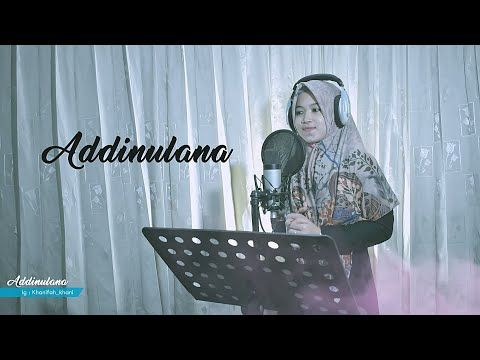 Terbaru Addinulana الدين لنا Versi Az Zahir Cover Khani Youtube Az Zahir Creative Logo Cover