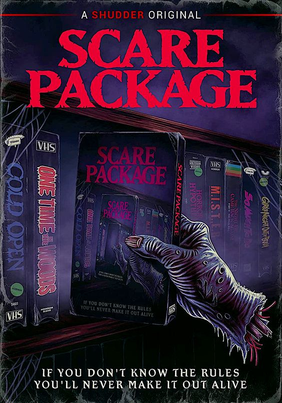 Scare Package A Shudder Original Dvd Image Entertainment Horror Movie Art Movie Art Horror Movies