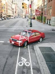 道路標示 - 自転車専用レーン